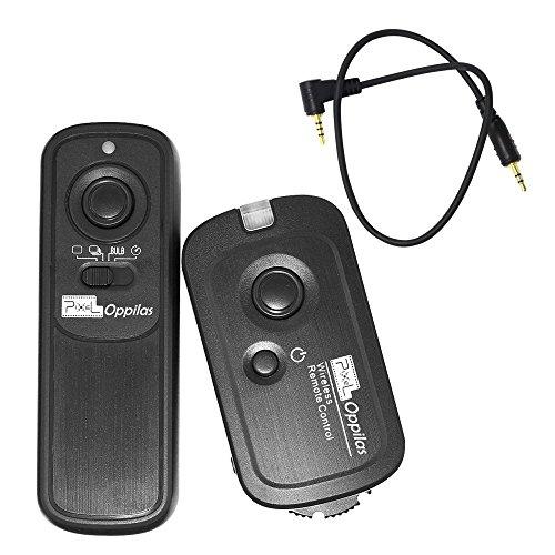 Pixel RW-221 / E3 Drahtlose Auslöser Fernbedienung Freigabe für Canon EOS 1300D / 1100D / 1000D / 750D / 700D / 650D / 600D / 300D / 60D / Powershot G10 / G11 / G12 / G1X / SX50 / 700D
