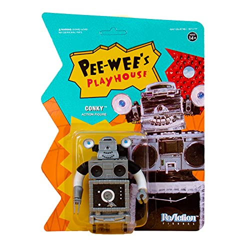 Super 7 Pee Wees Playhouse CONKY Reaction Figure