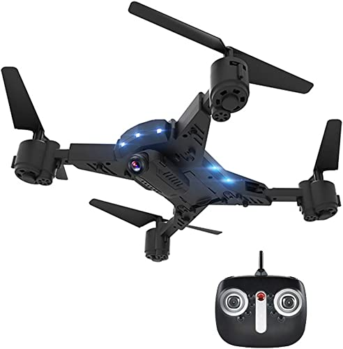 CAPTIANKN Drone, 5 Megapixel HD Camera Collapsible Wide-Winle-Real-Time-Video-Remote-Quadcopter