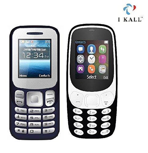 IKALL Combo of 18 inch Dark Blue K16 and Black K3310 Phone