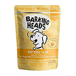 85% FREE-RUN CHICKEN - Our Fat Dog Slim lighter wet dog food is made with 85% fresh chicken blended with a seriously yummy combination of garden veg and herbs. This low-calorie chicken dinner will still be enjoyed by your canine companion NATURAL ING...