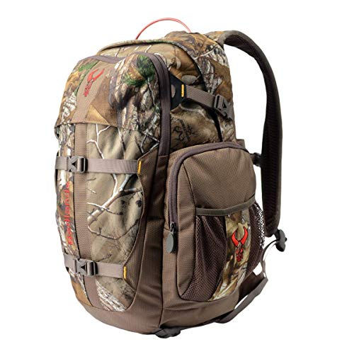 Badlands Pursuit Camouflage Hunting Day Pack - Bow And Rifle Compatible, Realtree Edge