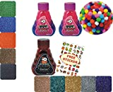 PADMA PACK OF 9 Slime Clay Mud Putty Toy Kit Set for Kids