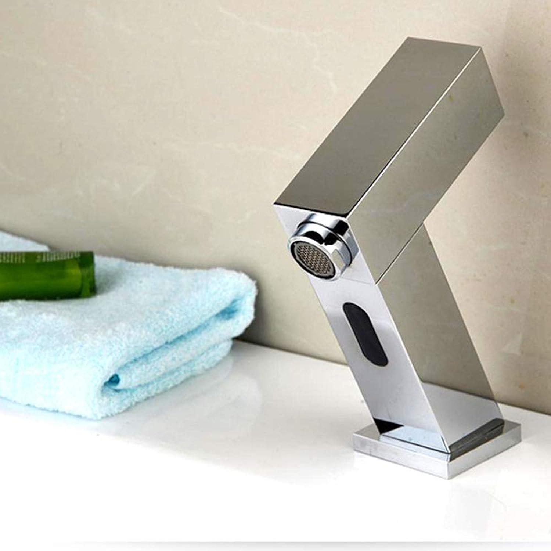 KUVV Clean Waschbecken Sensor Wasserhahn Einfache Kreative Becken Induktion Wasserhahn Bad Becken Kupfer Wasserhahn