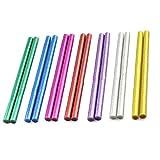 Xinlie Glitter Hot Melt Glue Stick Adesivi Bastoncini Colla Colorata Per Pistole Per Colla a CaldoØ11mm14Pezzi Bastoncini Per Colla Colorati Colla a Caldo Colla in 7Colori Diversi 11mmx200mm(14Pezzi)