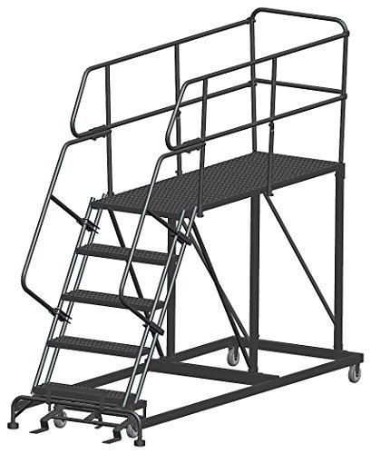 Roll Work Platform, Steel, Single, 50 In.H