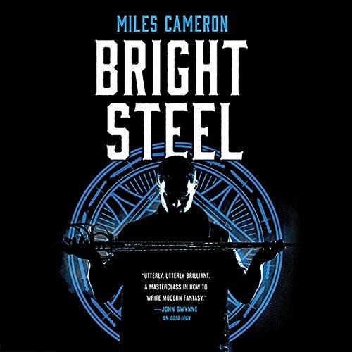 Bright Steel audiobook cover art