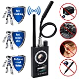 sherry Anti Spy Detector & Camera Finder RF Signal Detector GPS Bug Detector Hidden Camera Detector for GSM Tracking Device GPS Radar Radio Frequency Detector