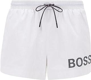 BOSS Mooneye Short de Bain Court à Logo en Tissu à séchage Rapide