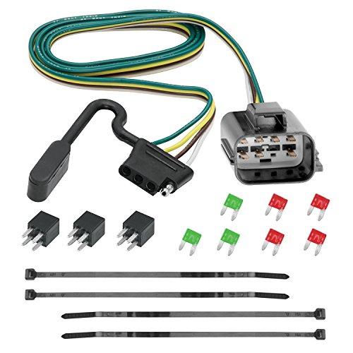 Tekonsha 118270 4-Flat Tow Harness Wiring Package, 1 Pack