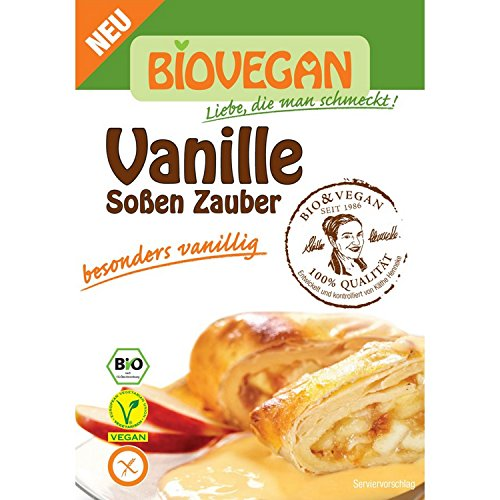 Biovegan Bio Vanille Soßen Zauber, BIO (1 x 38 gr)