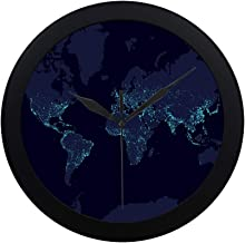 Best day and night world map wall clock Reviews