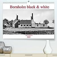 Bornholm black & white (Premium, hochwertiger DIN A2 Wandkalender 2022, Kunstdruck in Hochglanz): Impressionen von der wunderschoenen Insel Bornholm in schwarz-weiss. (Monatskalender, 14 Seiten )