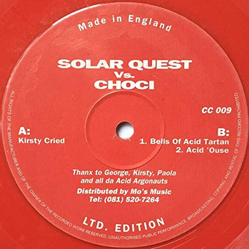 Solar Quest Vs. Choci - Kirsty Cried - Choci\'s Chewns - CC 009