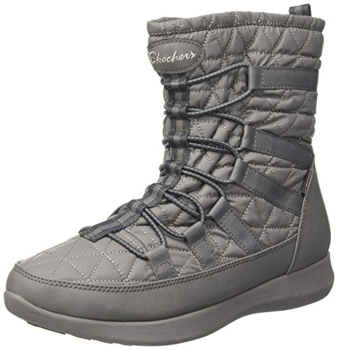 Skechers Damen Boulder Stiefel, Grau (Charcoal), 39 EU