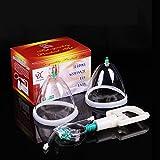 Breast Pump for Women, Breast Enlargement Massager Transparent Breast Pump Breastfeeding Suction Pump Women's Breast Pump Breast Massager,8 x 6.1 x 5.5 inches