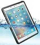iPad 9.7インチ 2017 2018 完全 防水ケース 耐震 防雪 防塵 耐衝撃 カバー 全面保護 IP68防水規格 アイパッドケース アイパッドカバー 防水カバー 耐衝撃カバー 薄型 第5世代 第6世代 iPad5 iPad6 アイパッド ストラップ付き お風呂 アウトドア A1893 / A1954 / A1822 /A1823