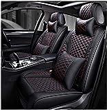 LUOLONG Housses de siège Auto Housse de siège Auto en Cuir, adaptée pour Audi A3 / A4 / A5 / A6 / A8 / q3 / q5 / RS4, Housses de siège Accessoires intérieurs de siège Auto en Cuir