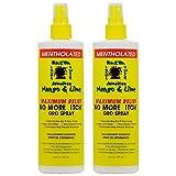 Jamaican Mango & Lime No More Itch Gro Spray Maximum Relief 16oz'Pack of 2'