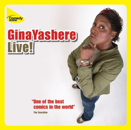 Gina Yashere Live at the Hackney Empire audiobook cover art