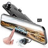 スマートミラー 前後カメラ ドライブレコーダー 12インチ大画面 Sony IMX335 センサー 強力な暗視性能 ADAS運転支援 WDR HDRノイズ対策済 LED信号対応 2K 高画質 1296P 170° 超広角 常時録画 駐車監視 タッチパネル デジタルインナー ミラー 防水リアカメラ 32GBカード付属 3年間安心保証 日本語説明書付き SOMKAI(サムカイ)SO2