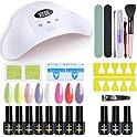 11-Pieces Ab Gel Nail Gel Polish Starter Kit