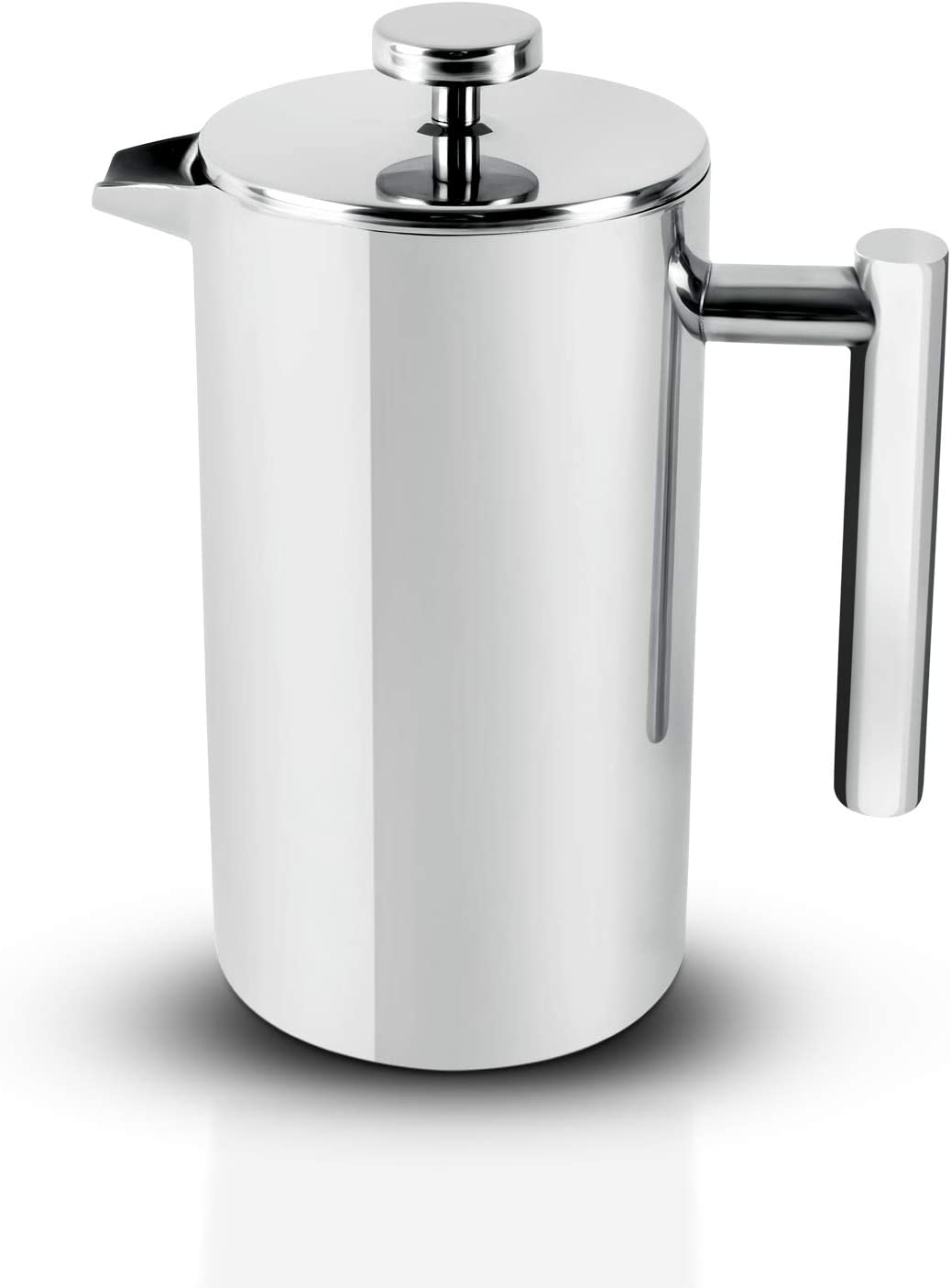 Royalford Mail order cheap Cafetiere Max 74% OFF Stainless Steel Press Coffee Portable French