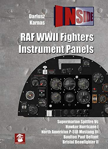 RAF WWII Fighters Instrument Panels (Inside, Band 4)