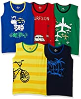 SOUTH SAILOR Boy's T-shirt (Set of 5)