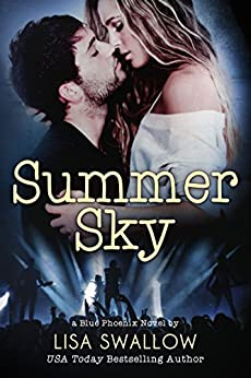 Summer Sky: A British Rock Star Romance (Blue Phoenix Book 1) by [Lisa Swallow]