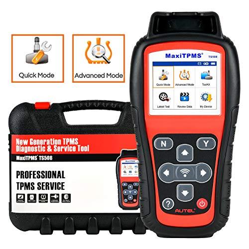 Autel MaxiTPMS TS508 TPMS Diagnose und Service Werkzeug, TPMS Relearn, TPMS Programmierung, TPMS Reset Tool mit Schnellmodus, Optionen für den Erweiterten Modus, Upgraded Ver. von TS501 TS408 TS401