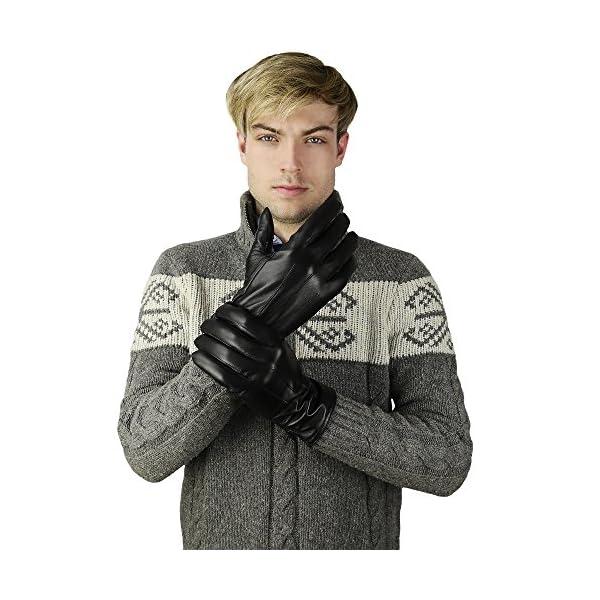 Candor & Class Men's Premium Sheepskin Leather Gloves 2