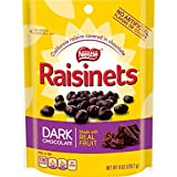 Raisinets Chocolate Stand Up Bag, Dark, 8 Ounce