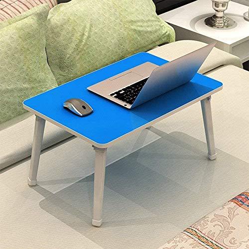 Table-Particleboard plegable mesa de aprendizaje escritorio portátil mesas cama con mesa pequeña 3