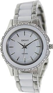 Dkny Women's White Ceramic Band Watch - NY8818