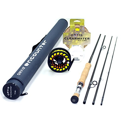 "Orvis Encounter 8-Weight 9' Fly Rod Outfit (8wt, 9'0"", 4pc)"