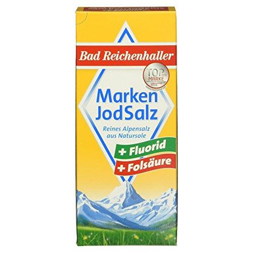 Bad Reichenhaller Marken JodSalz Fluorid+Folsäure, 500g