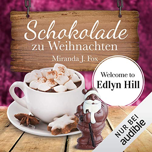 Schokolade zu Weihnachten     Welcome to Edlyn Hill 4              By:                                                                                                                                 Miranda J. Fox                               Narrated by:                                                                                                                                 Gabi Franke                      Length: 3 hrs and 29 mins     Not rated yet     Overall 0.0