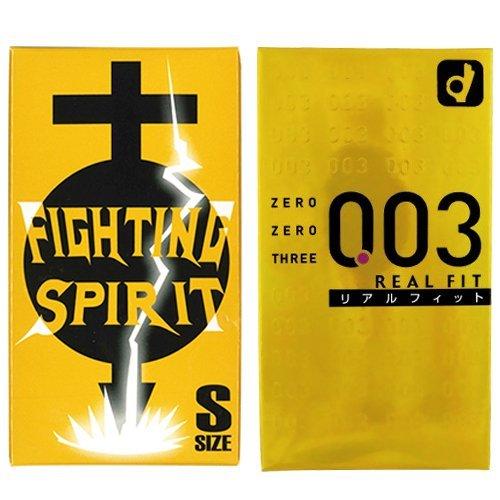 オカモト 003 リアルフィット 10個入 + FIGHTIN...