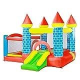 qazxsw Sports Toys Children's Trampoline Outdoor Children's Playground Indoor Slide Large Children's Play Pool Summer Inflatable Toy