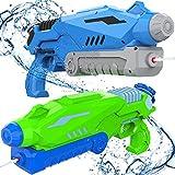 Joyjoz Pistola de Agua 800ML*2 Blaster de Agua para Niños Adultos Juguete de Verano para Playa