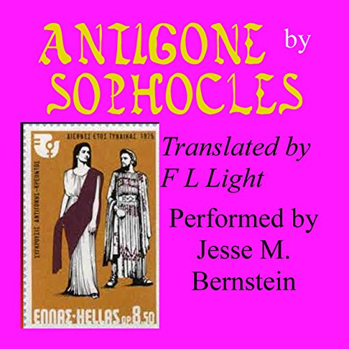 Antigone: Translated by F. L. Light audiobook cover art