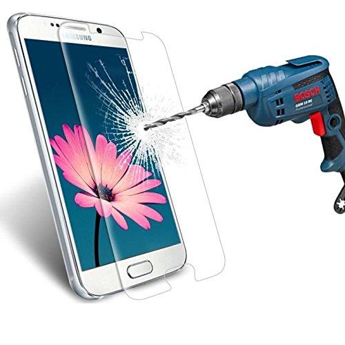 HQ-CLOUD 1 Film Vitre en Verre Trempé de Protection d'écran Transparent pour Samsung Galaxy S6 SM-G920