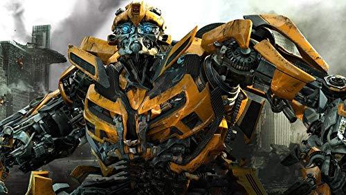 ZPDWT Puzzles 1000 Piezas-Transformers: Dark of The Moon Movie Posters-Rompecabezas de Madera para niños para Adultos Desarrollar la Paciencia Enfoque Reducir la PresióN DIY gift-75*50cm