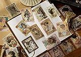 Pegatinas Scrapbooking, 240 Piezas Sellos Vintage Scrapbooking, Sellos Pegatinas Scrapbooking,...
