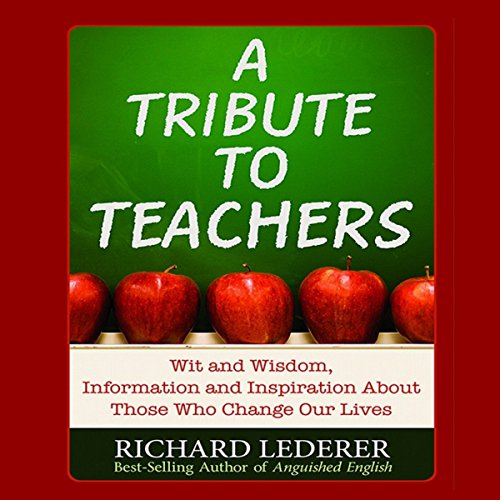 A Tribute to Teachers audiobook cover art