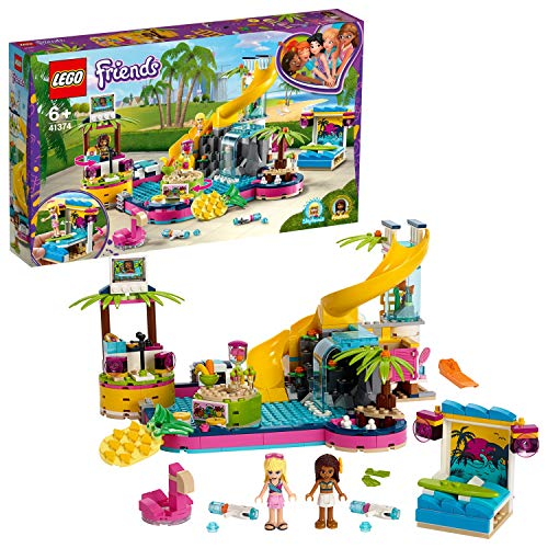 Lego Friends41374 Andreas Pool-Party, Bauset