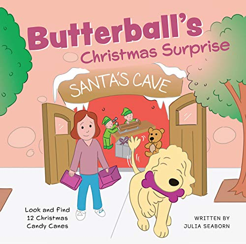 BUTTERBALL'S Christmas Surprise (Butterball the Poodle Book 3) by [Julia Seaborn]