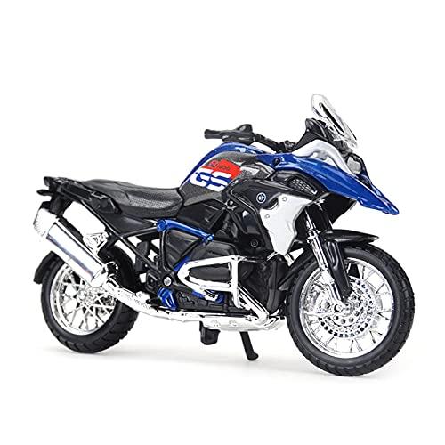 El Maquetas Coche Motocross Fantastico 1:18 aleación simulación para BMW-R1200GS vehículos deportivos fundidos a presión estáticos coleccionables juguetes modelo motocicleta Regalos Juegos Mas Vendido