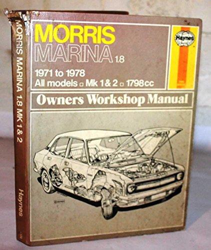 Morris Marina 1.8 TC Owner's Workshop Manual